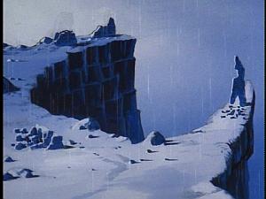 Disney Gargoyles - Shadows of the Past - present site of castle wyvern