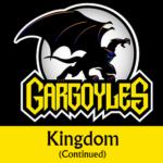 Disney Gargoyles logo with Goliath kingdom cont