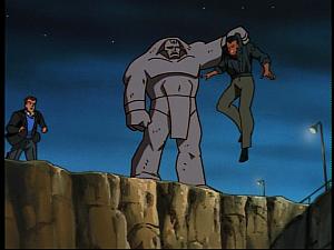 Disney Gargoyles - Golem - max stops golem from killing brod