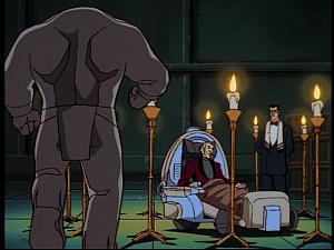 Disney Gargoyles - Golem - renard in golem