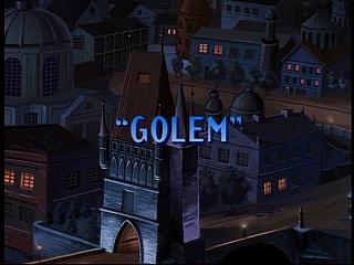 Disney Gargoyles - Golem - title