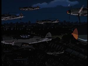 Disney Gargoyles - MIA - nazi planes