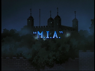 Disney Gargoyles - MIA - title
