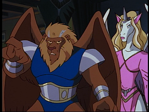 Disney Gargoyles - MIA - una and leo clothes