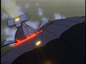 Disney Gargoyles - Monsters - mini sub crashes