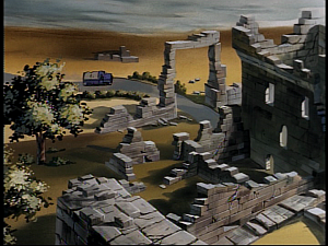 Disney Gargoyles - Monsters - secret entrance