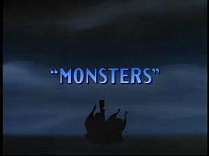 Disney Gargoyles - Monsters - title