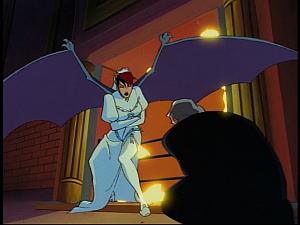 Disney Gargoyles - Sanctuary - demona transforms