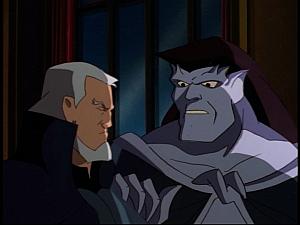 Disney Gargoyles - Sanctuary - goliath talks to macbeth