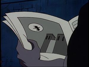 Disney Gargoyles - Sanctuary - newspaper monster of notre dame