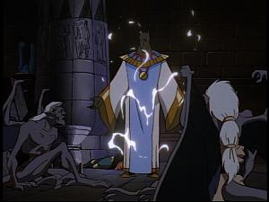 Disney Gargoyles - Grief - emir as anubis