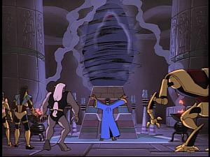 Disney Gargoyles - Grief - emir summons anubis