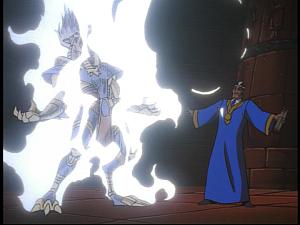 Disney Gargoyles - Grief - emir takes anubis