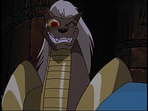 Disney Gargoyles - Grief - jackal happy