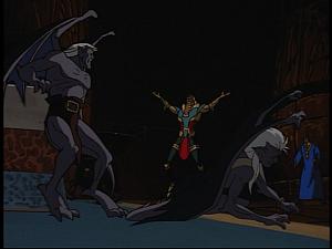 Disney Gargoyles - Grief - jackal victorious