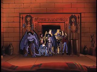 Disney Gargoyles - Grief - prisoners