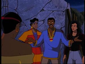 Disney Gargoyles - Mark of the Panther - argue fara maku