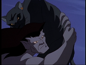 Disney Gargoyles - Mark of the Panther - cat and goliath