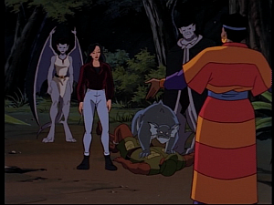 Disney Gargoyles - Mark of the Panther - diane and elisa