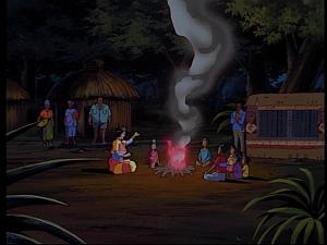 Disney Gargoyles - Mark of the Panther - diane maza telling story