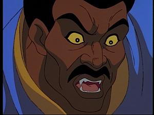 Disney Gargoyles - Mark of the Panther - fara maku changes