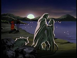 Disney Gargoyles - Mark of the Panther - gargoyles stone