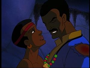 Disney Gargoyles - Mark of the Panther - sad fara maku and tea