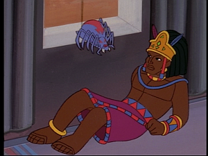 Disney Gargoyles - Mark of the Panther - son and anansi