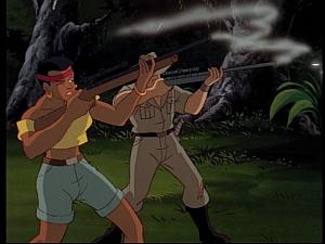 Disney Gargoyles - Mark of the Panther - tea and poacher