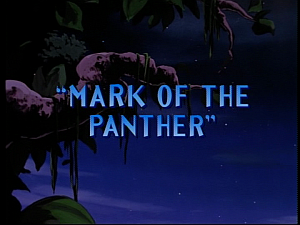 Disney Gargoyles - Mark of the Panther - title