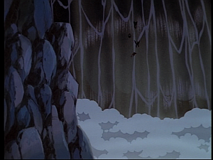 Disney Gargoyles - Mark of the Panther - waterfall