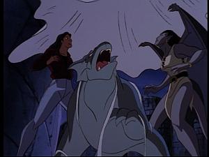 Disney Gargoyles - Mark of the Panther - web trap