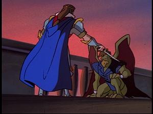 Disney Gargoyles - Pendragon - arthur knights griff