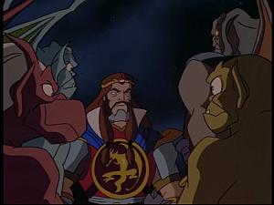 Disney Gargoyles - Pendragon - clan and arthur