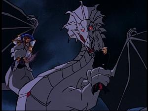 Disney Gargoyles - Pendragon - dragon has kings