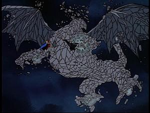 Disney Gargoyles - Pendragon - dust dragon