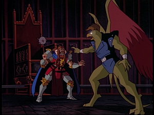 Disney Gargoyles - Pendragon - griff vs arthur