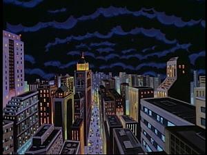 Disney Gargoyles - Pendragon - hole in sky
