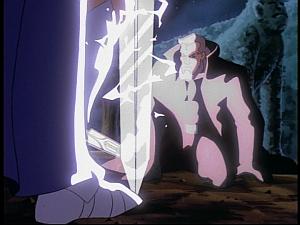 Disney Gargoyles - Pendragon - macbeth bows
