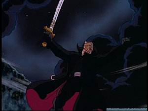 Disney Gargoyles - Pendragon - macbeth with sword
