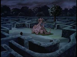 Disney Gargoyles - Pendragon - stone dragon