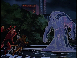 Disney Gargoyles - Pendragon - water djinn elemental
