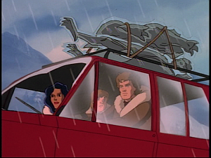 Disney Gargoyles - Eye of the Storm - car