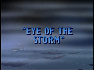 Disney Gargoyles - Eye of the Storm - title