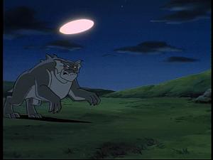 Disney Gargoyles - Sentinel - bronx chase light