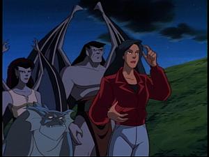 Disney Gargoyles - Sentinel - elisa guards goliath
