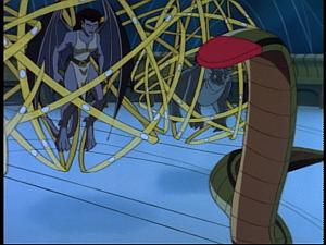 Disney Gargoyles - Sentinel - laser snake
