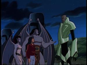 Disney Gargoyles - Sentinel - nokkar and gargoyles make peace