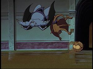 Disney Gargoyles - The Green - hyena balling