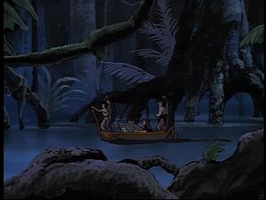 Disney Gargoyles - The Green - jungle river